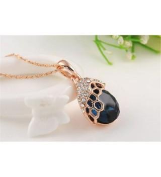 O4U Austrian Crystals Necklace Earrings in Women's Jewelry Sets