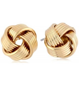 "Signature 1928 ""Collection"" Love Knot Stud Earrings - Gold-Tone - CO11J75F6XR"