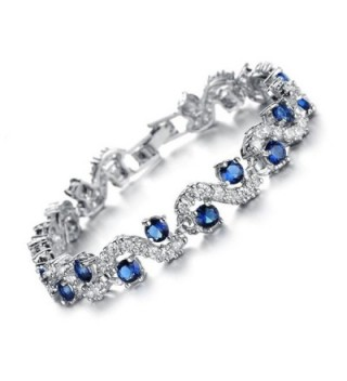 Feraco Bracelet Zirconia Crystal Wedding