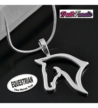 Equestrian Jewelry Accessories Collection Necklace - CC125H9W5QR