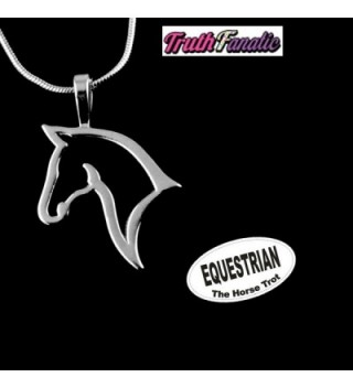 Equestrian Jewelry Accessories Collection Necklace