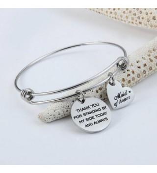 Jewelady Bracelet Stainless Expandable Bridesmaid