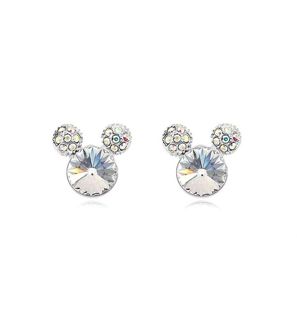 Earrings SWAROVSKI Birthdays Christmas Wedding White - White - CD11I4LDMLD