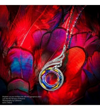 Necklace Swarovski Crystals Anniversary Birthday in Women's Pendants