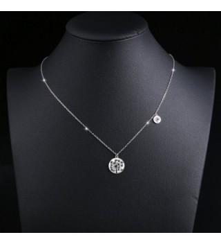 Mother Daughters Sterling Dandelion Necklace