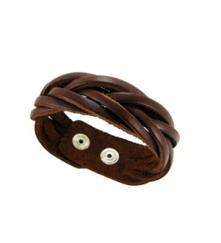 BrownBeans Braided Comfortable Bracelet LBCT5040 in Women's Cuff Bracelets