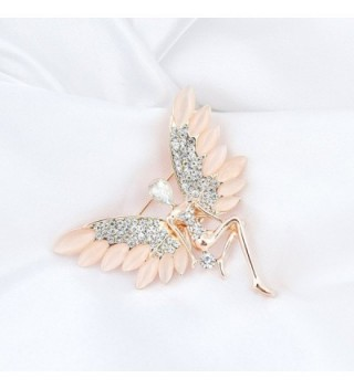 CHUYUN Crystal Angel Delicate Brooch