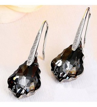 Sterling Earrings Swarovski Elements Simulants