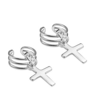 Sterling Silver Contemporary Style Dangle