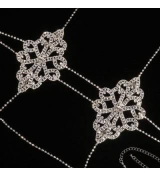 Rhinestone Neckalce Holylove Women Novelty Gift Box in Women's Chain Necklaces