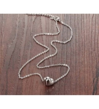 Stainless Pendant Collarbone Necklace Romantic