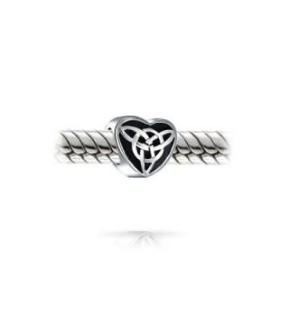 Bling Jewelry Oxidized Sterling Triquetra in Women's Charms & Charm Bracelets