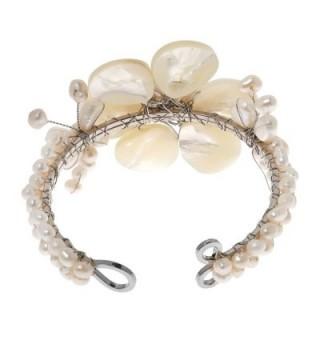 Elegance Mother Bracelet Cultured Freshwater Beaded in Women's Strand Bracelets