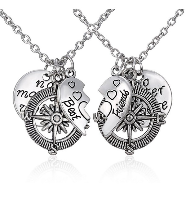Couples Daughter Necklace Matching Engraved - CV182YQH06X
