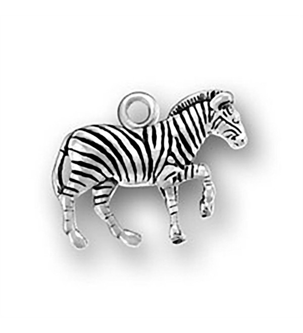 Corinna-Maria 925 Sterling Silver Zebra Charm - CA11PNKFPPJ