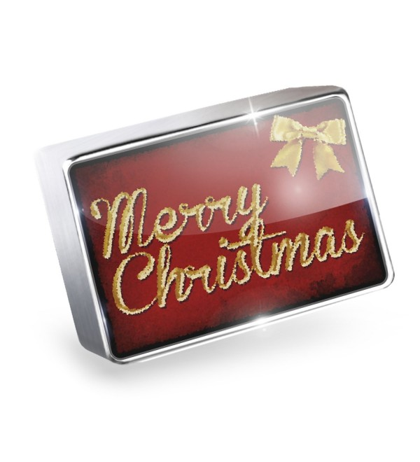 Floating Charm Merry Christmas in English from USA Fits Glass Lockets- Neonblon - CW11HL69VO9