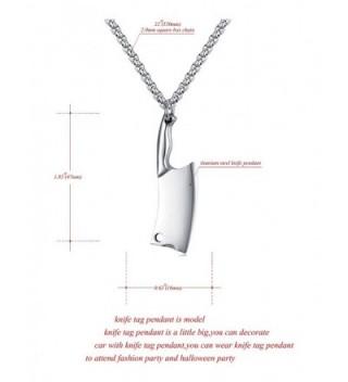 Stainless Pendant Necklace Fashion Titanium