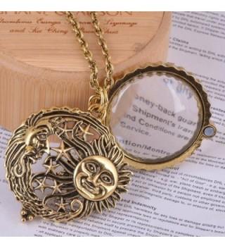 Magnifier Pendant Necklace Antique Magnetic