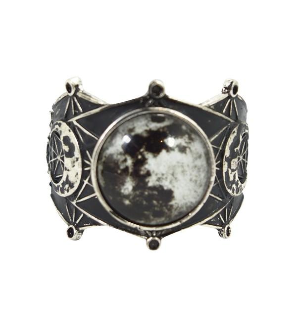 Restyle Sacred Geometry Luna Full Moon Cuff Bracelet - CJ12O5MGYRJ