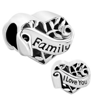 CharmsStory Heart Mom Love Family Tree Of Life Charm Beads Charmss For Bracelets - CN11VIG7EMT
