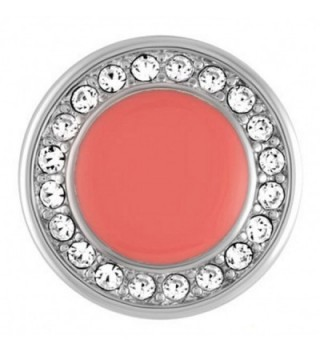 Ginger Snaps Coral with Stones Snap - CL11WELMFT9