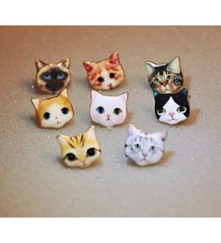 CUTIEJEWELRY Pretty Kitty Earrings Women