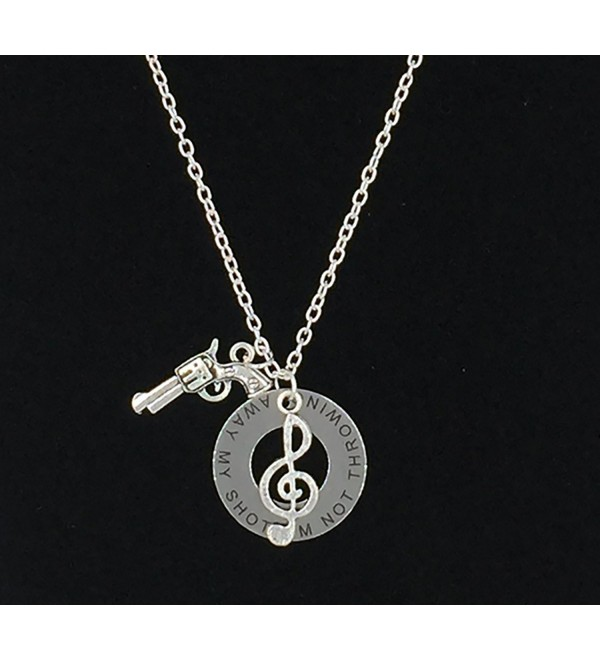 Hamilton Musical Necklace Not Throwing Away My Shot . - CH17YO7UN2R
