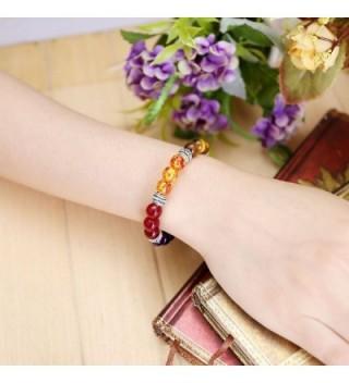 Top Plaza Gemstone Meditation Bracelet