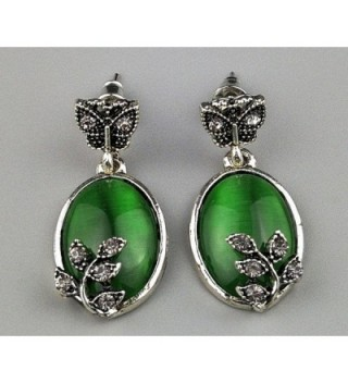 Susenstone Wedding Butterfly Rhinestone Earrings