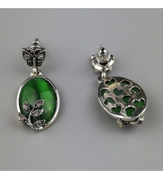 Susenstone Wedding Butterfly Rhinestone Earrings in Women's Anklets