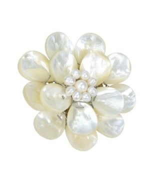 Mother Pearl Cultured Freshwater Pearls Floral