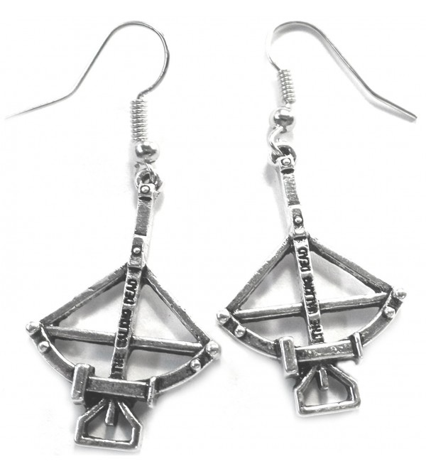 The Walking Dead Daryl Dixon Replica Crossbow Dangle Earrings - CF12DBSDYKH