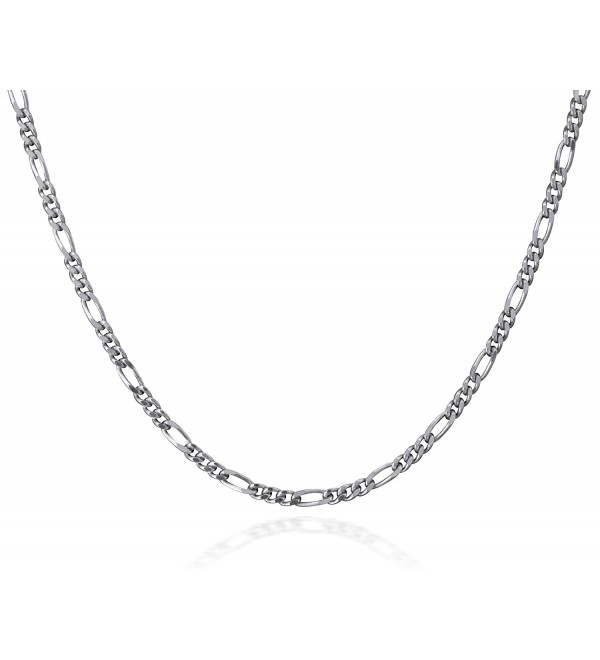 Italian Sterling Silver Delicate Necklace - CT11CP1N817