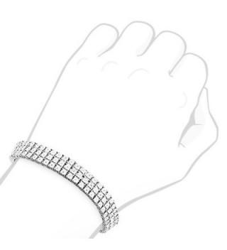 Enriko Princess Sparkling Rhinestones Bracelet in Women's Anklets