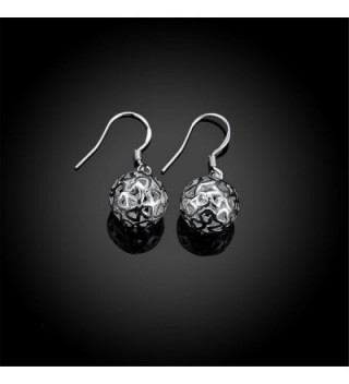 HMILYDYK Genuine Sterling Jewelry Earrings in Women's Ball Earrings