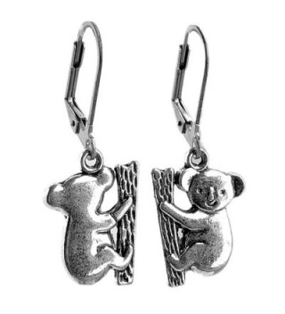 Sabai NYC Australian Outback Koala Charm Dangle Earrings - CM187KLY0YS