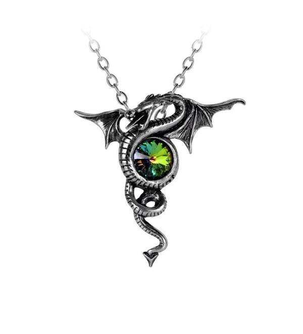 Anguis Aeternus Pendant by Alchemy Gothic - C411JS8B8IZ