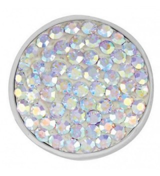 Ginger Snaps OPALESCENT SUGAR SNAP SN32-18 Interchangeable Jewelry Snap Accessory - CK11EYHZXNL