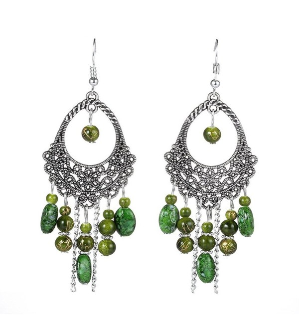 Earrings Antique Bohemian Chandelier Fashion - Style 11 - C7189YULGQM