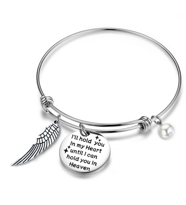 Gzrlyf Memorial Bracelet Ill Hold You In My Heart Until I Can Hold You In Heaven Charm Miscarriage Gift - CM180CXU9DD