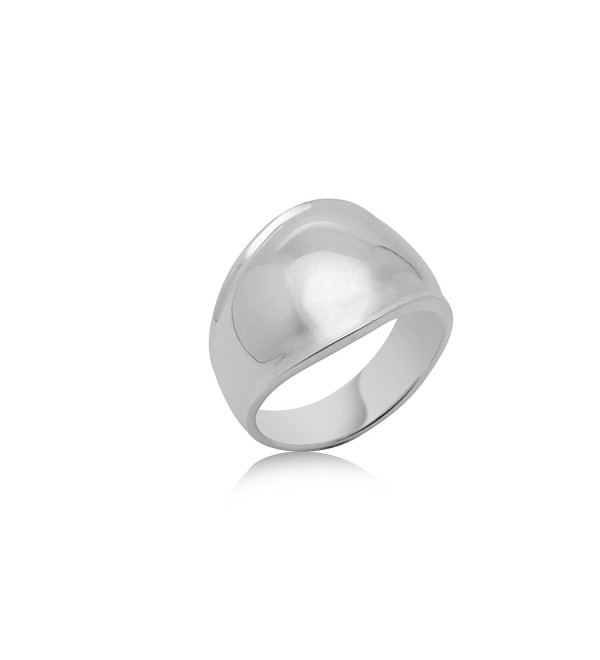 Sterling Silver Bubble Ring - Premium Rhodium Plated- 925 Silver - CORTINA - CM12NULJPQ4