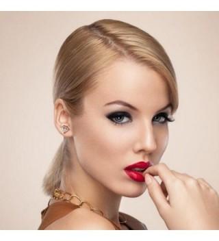 UHIBROS Earrings Hypoallergenic Stainless Zirconia in Women's Stud Earrings