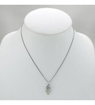 Sterling Silver Lovely Pendant Necklace in Women's Pendants