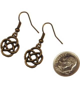 Earrings Celtic Antique Bronze Dangle