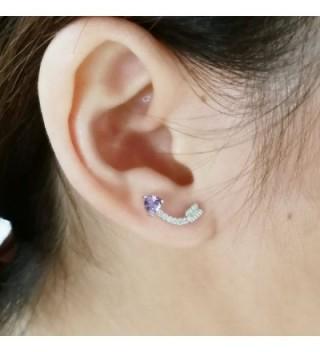 Heart Arrow Sterling Silver Earrings
