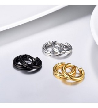 Earrings Earring Stainless Fashion 3PSE3010JGH