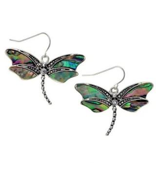 Liavys Dragonfly Fashionable Earrings Sparkling - CV126V2SCXJ