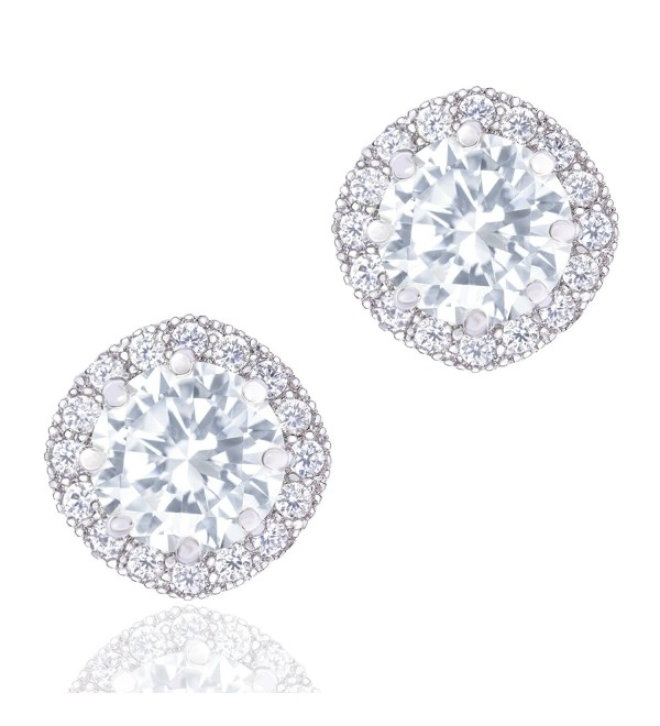 Orrous Premium Cubic Zirconia Earrings - CW11O5PG9WV