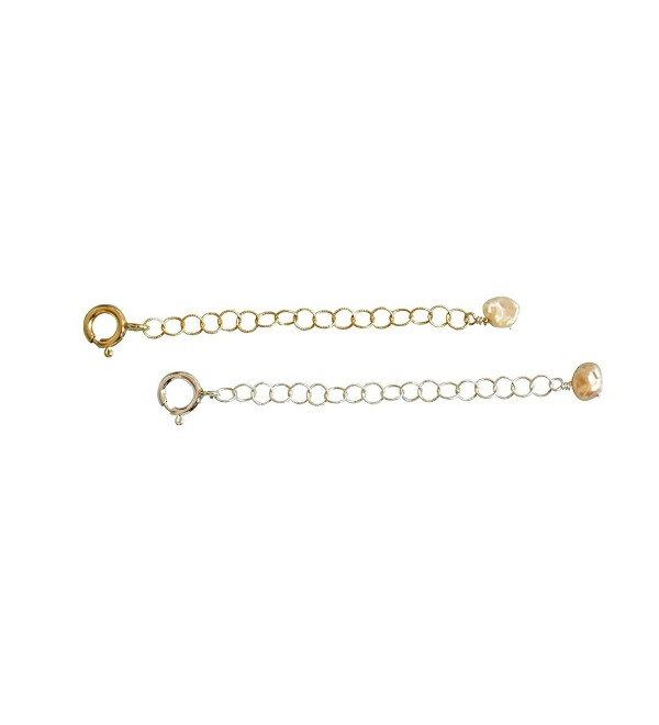 """2"""" of Extender Chain- Removable and Adjustable Sterling Silver or 14k Gold Filled - Extra Links - C811K4YZHR5"""