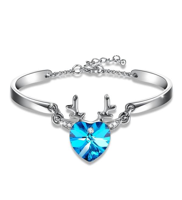 GEORGE SMITH Bracelets Christmas Swarovski - CN186RHOYA6